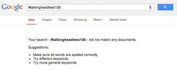 no headless